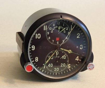 Aircraft Clock