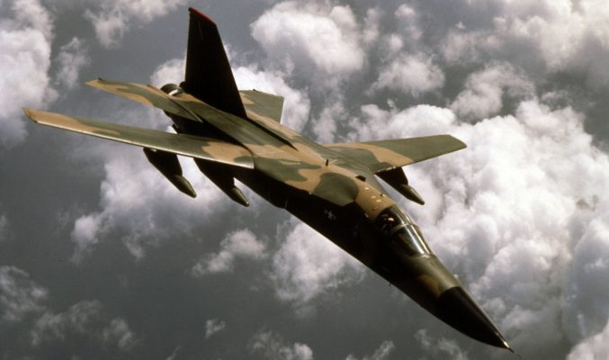 F-111 Aardvark. Air Force inventory in 1967